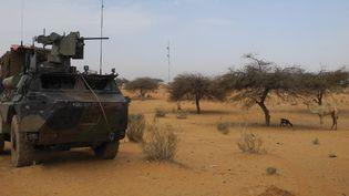 Des soldats français de l'opération Barkhane au Mali, en 2019. (DAPHNE BENOIT / AFP)