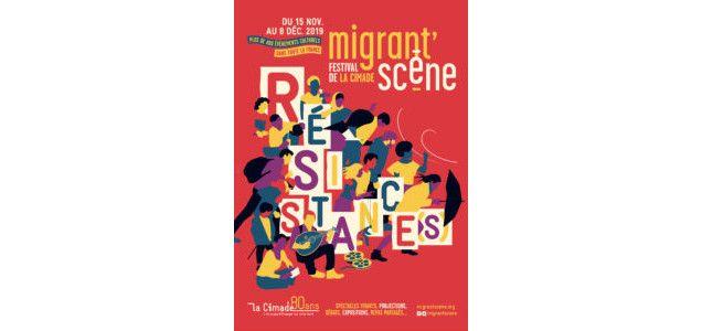 Affiche de Migrants'scène 2019 (Cimade)
