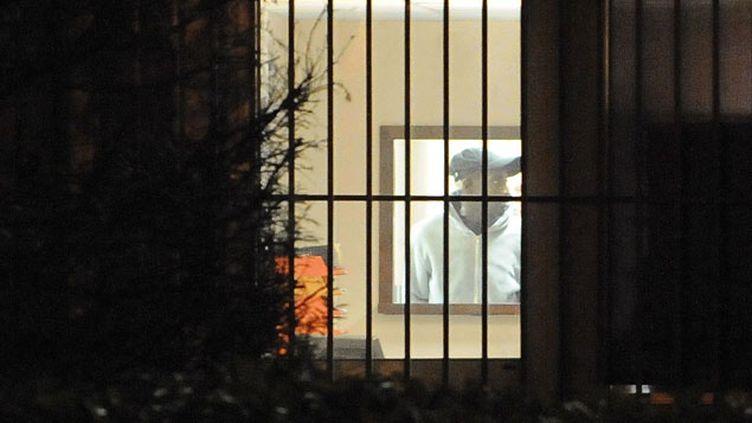 (Yoni Palmier, accusé d'avoir commis quatre meurtres par balles dans l'Essonne © Maxppp)