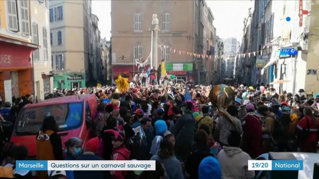 Marseille : un carnaval sauvage qui pose question