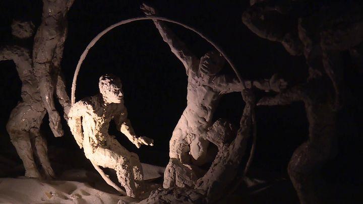 Sculptures d'Emilie Tolot (France 3 Aura)