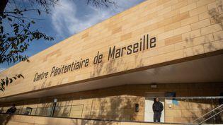 """Vue générale du centre pénitencier """"Les Baumettes"""",octobre 2018, à Marseille. (CHRISTOPHE SIMON / AFP)"""