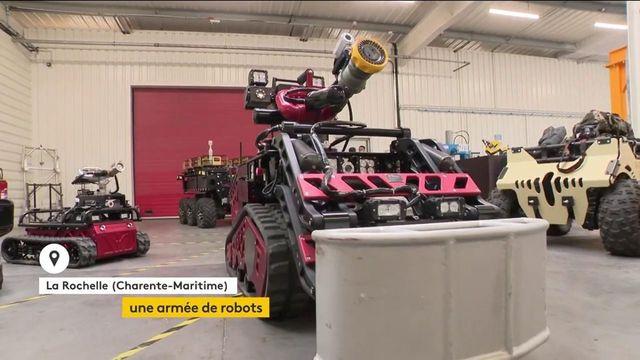 Sciences: quand l'armée se robotise pour réduire les risques humains