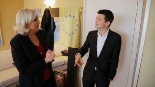 """""""Derrière la porte"""" Marine Le Pen 14 mars 2019 (L'EMISSION POLITIQUE / FRANCE 2)"""