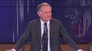 Philippe Juvin, candidat à la primaire Les Républicains et chef des urgences de l'hôpital Georges Pompidou à Paris, invité de franceinfo le 19 septembre 2021. (FRANCEINFO / RADIO FRANCE)