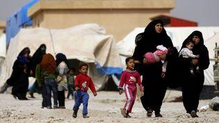 Le camp d'Aïn Issa, Syrie, en octobre 2018. (DELIL SOULEIMAN / AFP)