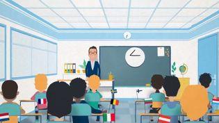 Quel part de leur budget les Etats réservent-ils à l'éducation ? (FRANCE 3)