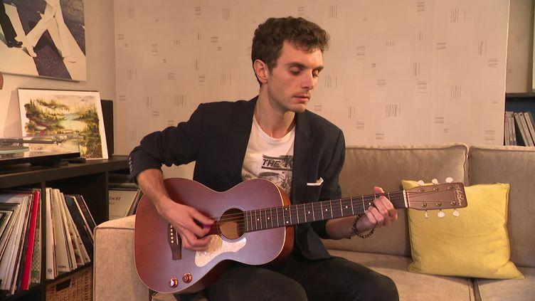 Burkingyouth, chanteur confiné  (France 3 Normandie)