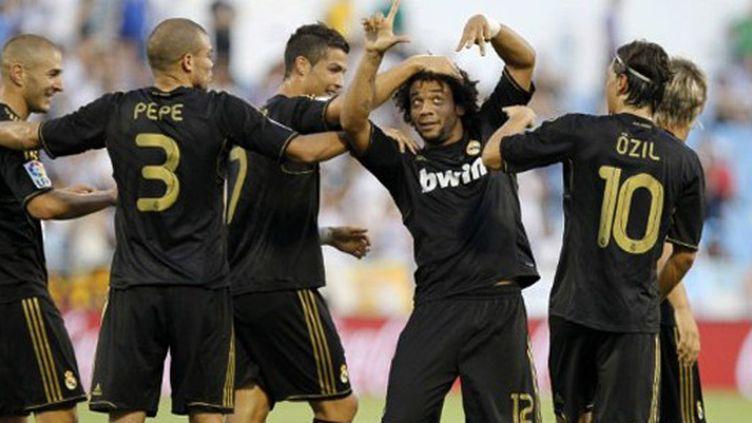 La joie madrilène entre Pepe, Cristiano Ronaldo, Marcelo et Benzema