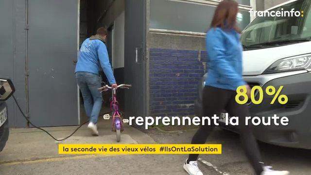 Une association de Boulogne-sur-Mer restaure des vélos récupérés en déchetterie et les revend à prix réduits