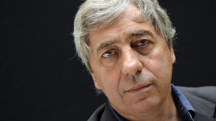 Sorj Chalandon le 29 juillet 2009 à Paris  (Bertrand Guay / AFP)
