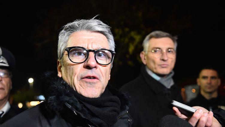 Le préfet Bernard Gonzalez (photo d'illustration, le 23 novembre 2018 à Angers) (JEAN-FRANCOIS MONIER / AFP)