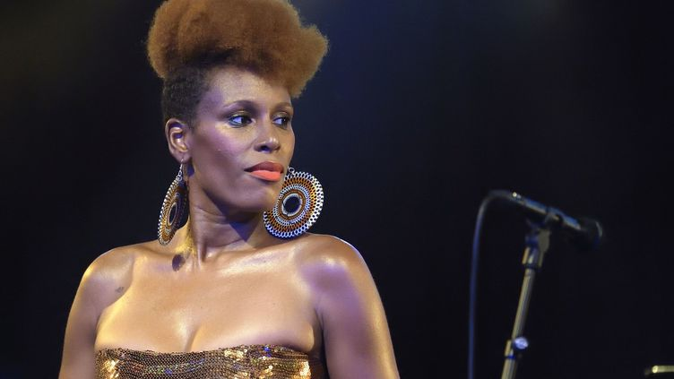 "Sandra Nkaké au festival ""Jazz à la Villette""  (SADAKA EDMOND/SIPA)"