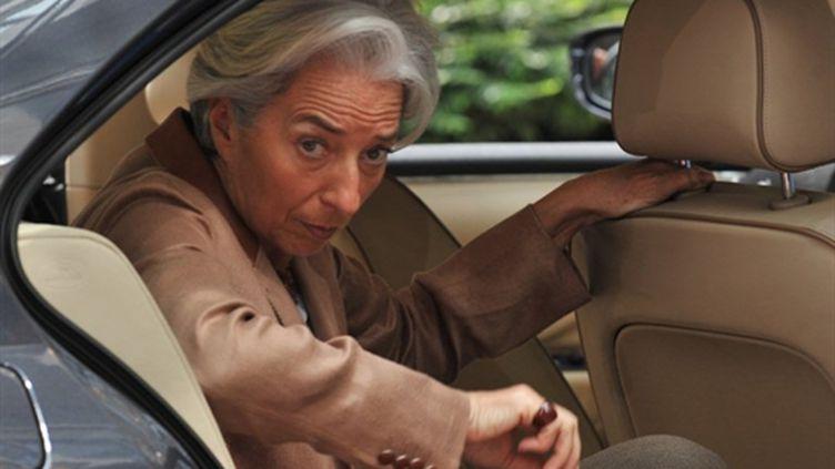 La ministre de l'Economie, Christine Lagarde - 09/05/10 (AFP Georges Gobet)