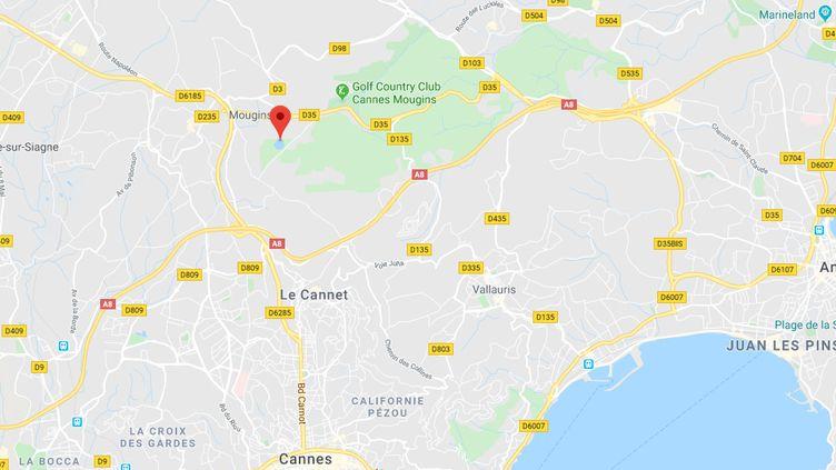 Le corpsd'une femme avait été découvert le matin de Noël près de l'étang de Fontmerle, dans le parc départemental de la Valmasque, non loin de la technopole de Sophia-Antipolis. (GOOGLE MAPS)