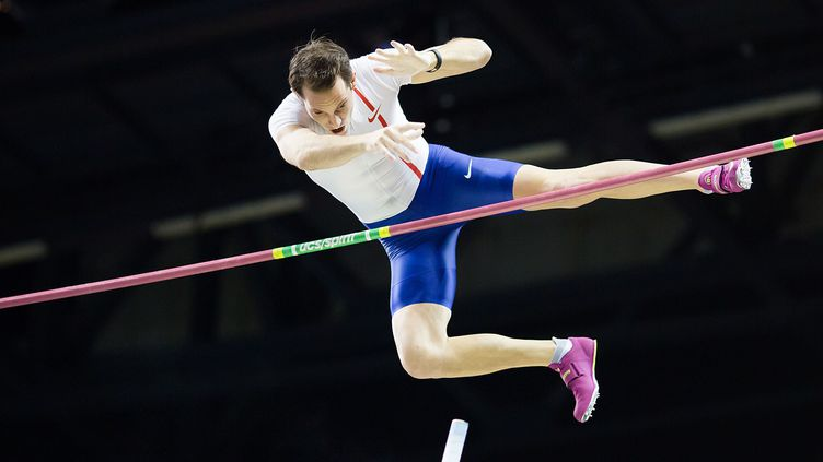 Renaud Lavillenie a passé 5,92m ce mercredi en Suède (SEBASTIAN WELLS/PIXATHLON/SIPA / PIXATHLON)