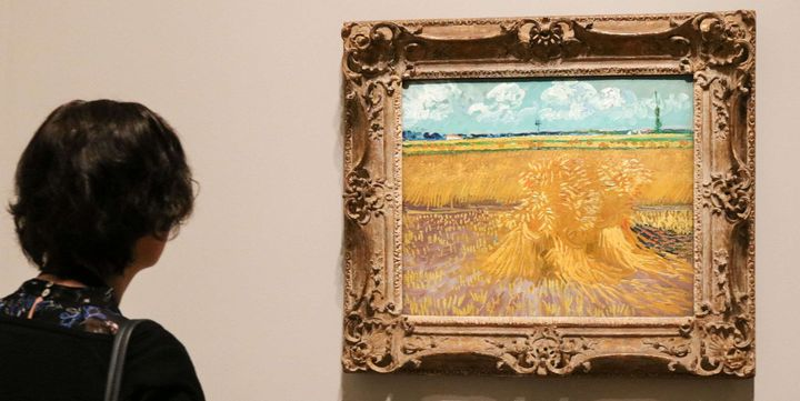 """Champs de blé"" Vincent Van Gogh, Arles 1888  ( Amer Ghazzal/Shuttersto/SIPA)"