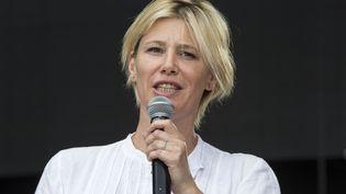 La présentatrice de télévision Maïtena Biraben, le 28 juin 2015 au festival Solidays à Paris. (CITIZENSIDE / CAROLINE PAUX / AFP)