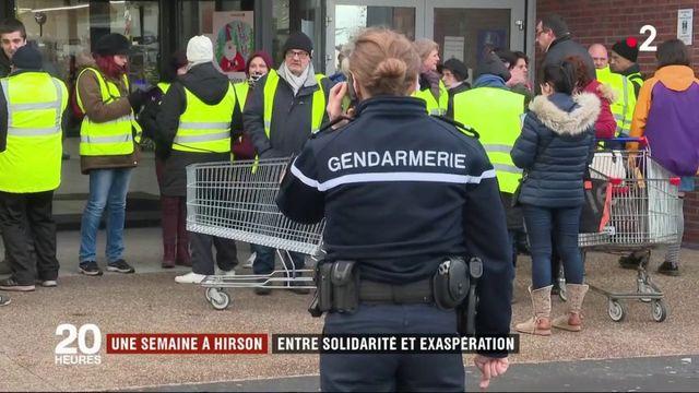 Aisne : Hirson, entre solidarité et exaspération