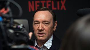 """Kevin Spacey le 22 février 2016 à Washington, à la première de la saison4 de """"House of Cards""""  (Nicholas Kamm / AFP)"""