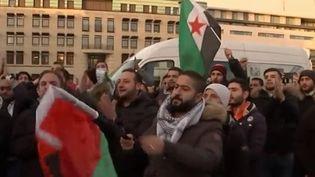 Après la reconnaissance par Donald Trump de Jérusalem comme capitale israélienne, des manifestations ont lieu notamment en Allemagne, marquées par des débordements antisémites que le gouvernement a condamnés. (FRANCE 2)