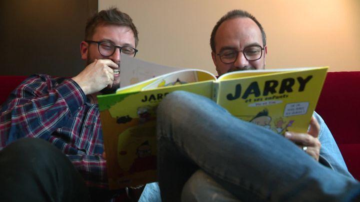 Julien Osty et Jarry (S.Agostini / France Télévisions)