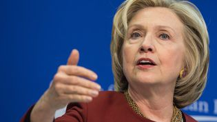 Hillary Clinton à Washington, le 23 mars 2015. (NICHOLAS KAMM / AFP)