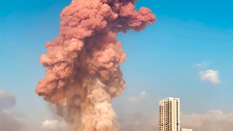 L'explosion, dans un entrepôt du port de Beyrouth (Liban), a causé des dégâts sans précédent, le 4 août 2020. (MIKHAIL ALAEDDIN)