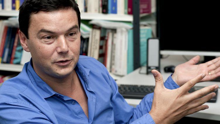 L'économiste Thomas Piketty, à Paris, le 29 septembre 2014. (YANN KORBI / AFP)