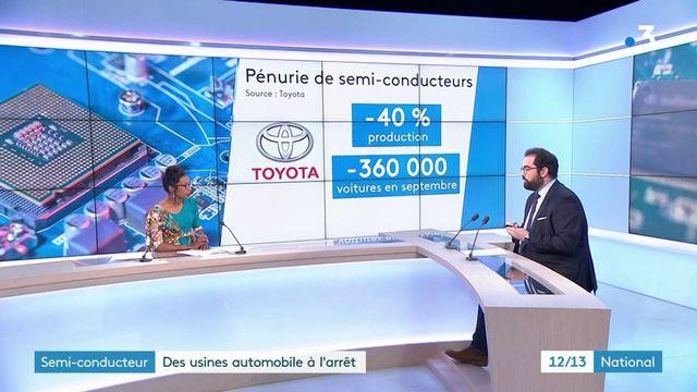Automobile : des usines à l'arrêt par manque de semi-conducteurs