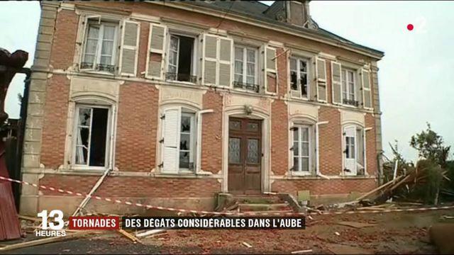 Intempéries :  l'Aube et la Marne ont subi de lourds dégâts