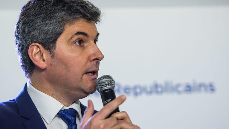 Gilles Platretau siège du parti Les Républicains à Paris en 2018. Photo d'illustration. (CHRISTOPHE PETIT TESSON / MAXPPP)