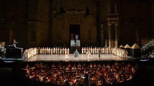 """Les Chorégie d'Orange 2017 : """"Aida"""" de Verdi  (BERTRAND LANGLOIS / AFP)"""