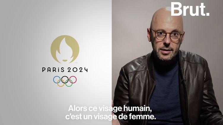 VIDEO. Que raconte le logo officiel des JO 2024 ? (BRUT)