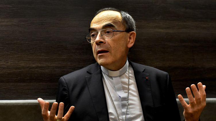 Le cardinal Philippe Barbarin, le 29 novembre 2017, à Lyon. (MAXPPP)