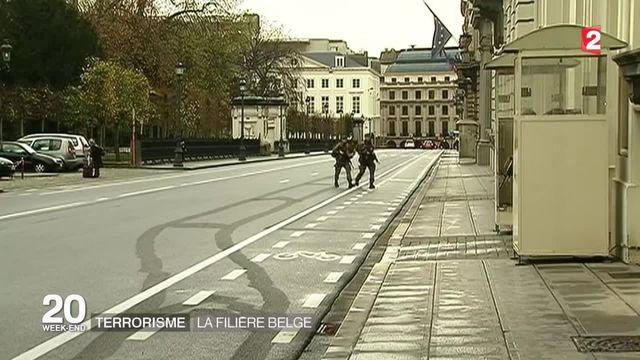 Terrorisme : la filière belge