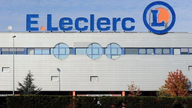 Un magasin Leclerc à Toulouse (Haute-Garonne), le 23 novembre 2013. (REMY GABALDA / AFP)