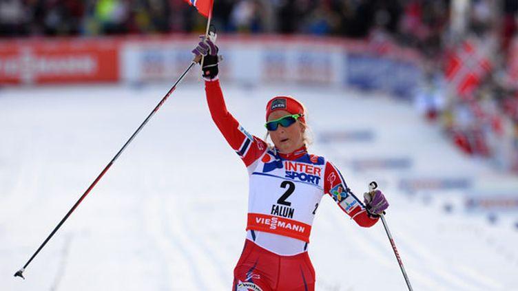 La skieuse Therese Johaug