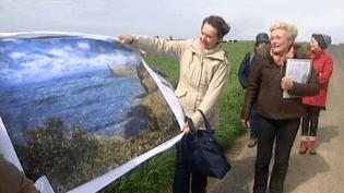 Une randonnée de Fécamp à Grainval sur les lieux qui ont inspiré Claude Monet  (France 3 Culturebox)