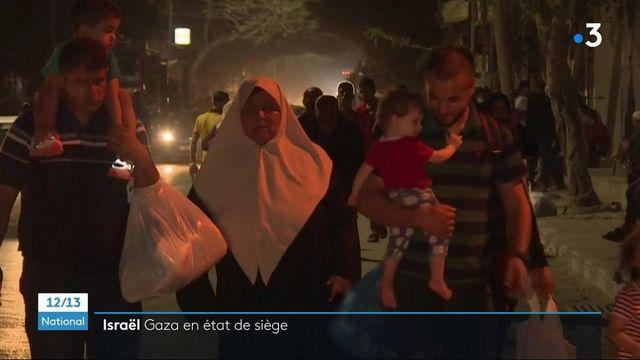Proche-Orient : les Palestiniens en exode, Israël en état de siège