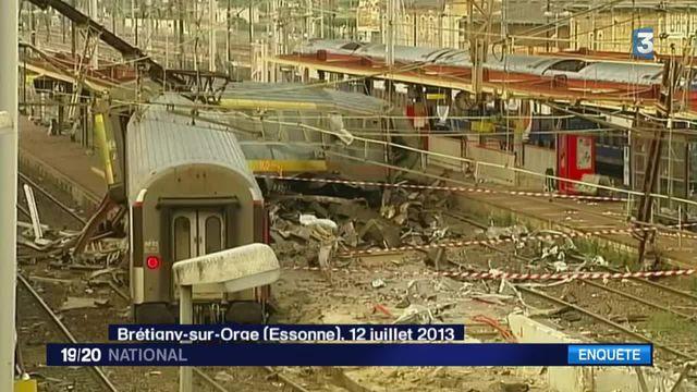 Accident de Brétigny : un rapport accable la sécurité de la SNCF