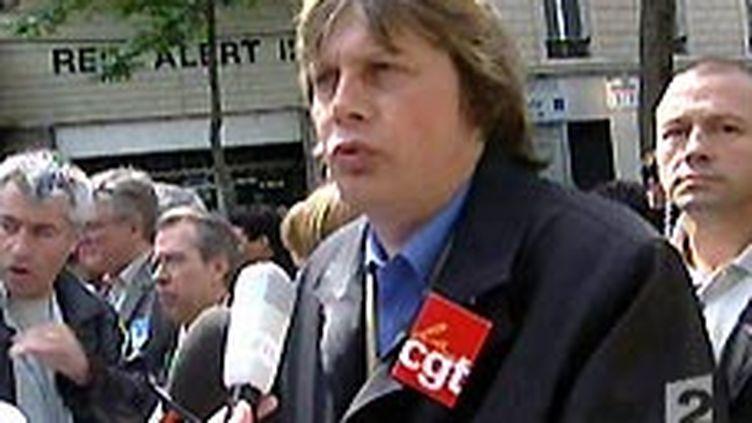 Bernard Thibault brigue un quatrième mandat à la tête de la CGT. L'élection aura lieu en décembre. (© France 2)
