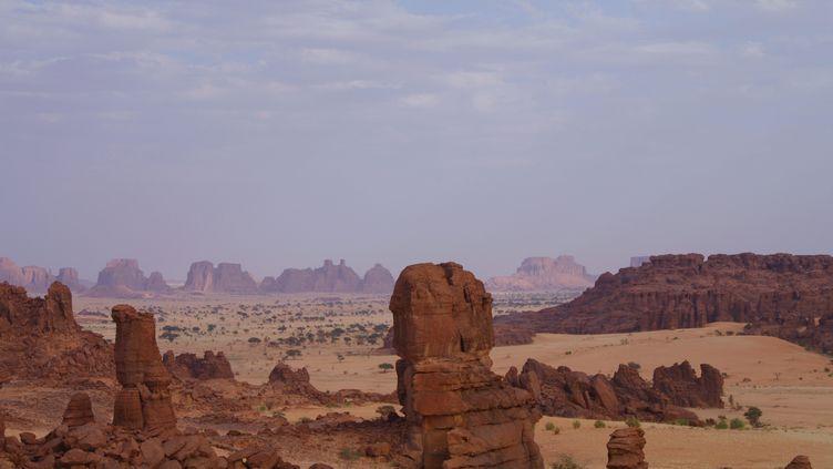 Paysage du Tibesti au nord du Tchad. (D?SIR?E VON TROTHA / PICTURE ALLIANCE)