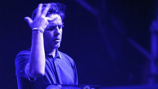 Le DJ Laurent Garnier en 2015  (Jeff PACHOUD / AFP)