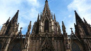 Cathédrale Sainte-Croix à Barcelone, le 27 août 2016. (CATHERINE GONZALEZ / EYEEM / EYEEM)