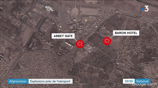 Attentat à Kaboul : deux explosions font au moins six morts près de l'aéroport