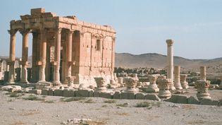 Temple de Baalshamin à Palmyre, en 1974  (Eva Dora Schröder / picture alliance / DPA / AFP)