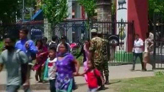 Le Népal, victime d'un nouveau séisme