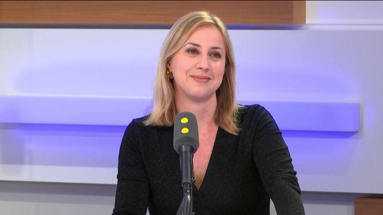 Nelly Garnier, invitée de franceinfo mardi 4 février 2020. (FRANCEINFO / RADIOFRANCE)