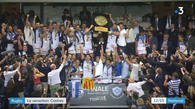 Rugby : la sensation Castres, vainqueur du Top 14